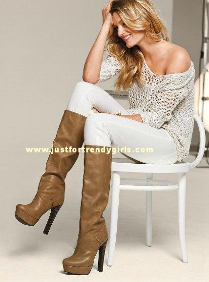 Victoria S Secret Winter Boots 2013 Just For Trendy Girls